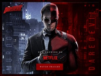 Daredevil Landing Page Concept