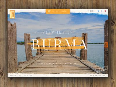 Step Inside Burma Live!