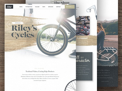Riley's Cycles About Page