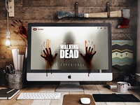 The Walking Dead VR Experience Mockup