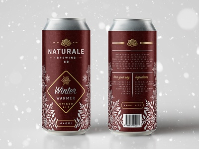 Naturale Brewing Co. Festive Edition Can Design 🎅🏼