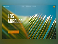 Travel Landing Page / Day 01
