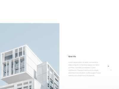 Dwell Homepage / Day 04 minimal clean architect architecture lookbook home screen landing page user interface ux ui website web design