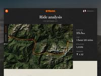 Strava Ride Concept / Day 15