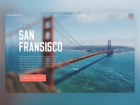Travel Landing Page SF / Day 17