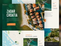 Travel Landing Page Zadar / Day 26