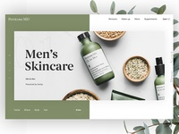 Minimal Skincare Landing Page