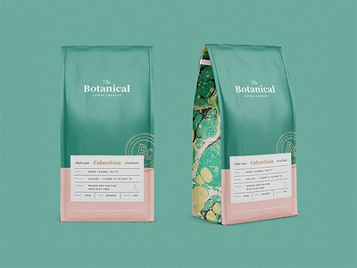 Botanical Coffee Co Packaging