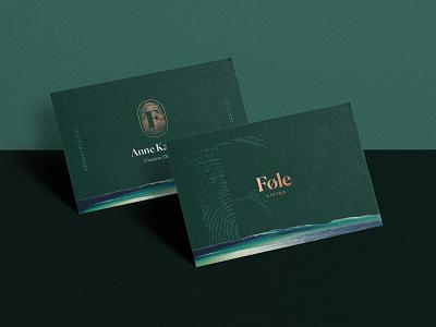 Føle Business Cards mock up typography identity foil print design print luxury biz cards logo design brand assets business cards logo branding brand