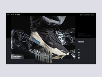 Nike x FOG Image Displacements