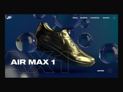 Air Max 1 Interaction