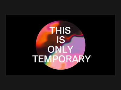 Temporary Measures – Holding Site ui design portfolio typography minimal landing page interaction animation interface ux web website ui web design