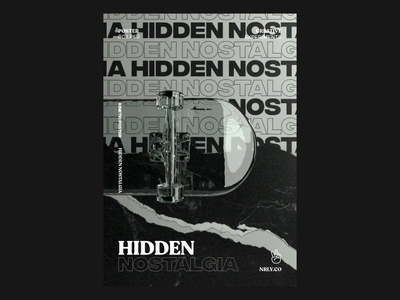 Hidden Nostalgia octane experimental graphic skateboard kinetic type typography kinetic poster after effects cinema4d animation