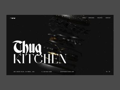 Thug Kitchen Restaurant Concept 🍔