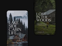 Cabin&Wild Mobile Screens