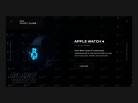 NIKE GLOW® APPLE WATCH CONCEPT