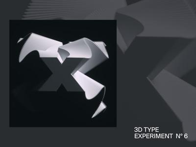 XTRAILS — 3D type experiment Nº6