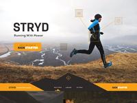 Stryd homepage