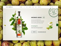 Greengage Liqueur