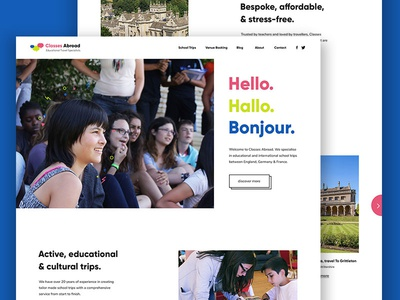 Classes Abroad Homepage