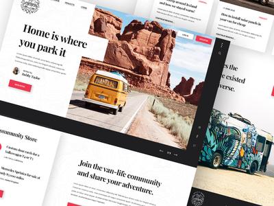 Wheels & Wander Homepage
