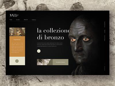 Museo Archeologico Nazionale minimal history greek roman italy ticket exhibition statue ui homepage museum