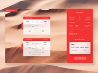 Air Canada Booking Concept
