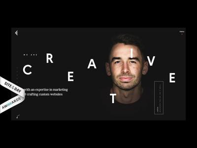 Coulee Creative Wins Site Of The Day on Awwwards interaction homepage design monochrome design creative homepage studio website agency website typography fistbump animation illustration portfolio studio awwwards ux ui