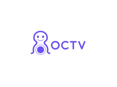 OCTV Video Streaming logo design logoprocess logocreation streaminglogo videostraming design logoinspiration brand identity minimal branding