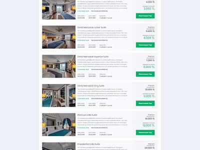 Hotel Booking / Hotel Details layout clean flat follow ux design tour hotel booking art green ui design booking hotel