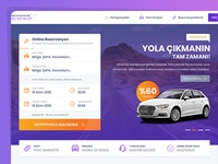 Rent a Car Ui/Ux Design