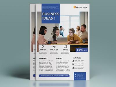 Corporate Flyer Design photoshop brand design branding real estate illustration brochure design brochure flyer design flyer graphics design