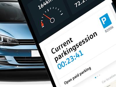 My Volkswagen App Redesign 2018