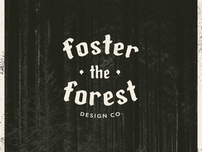 Foster the Forest