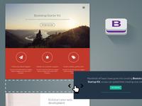 Bootstrap Starter Kit concept