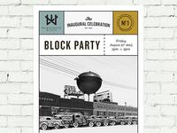 Warehouse Block Poster