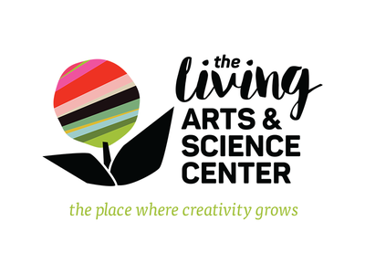 The Living Arts & Science Center identity logo