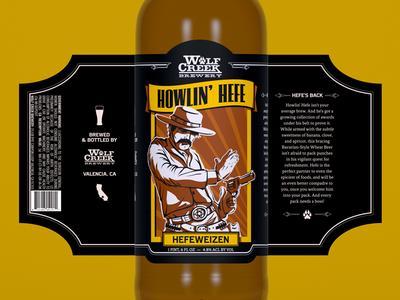 Wolf Creek Brewery - Howlin' Hefe