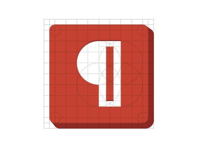 Pilcrow construction 2 pilcrow geometry logo symbol icon construction