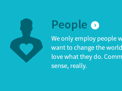 People people icon heart typography source sans cyan