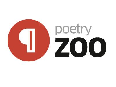 PoetryZoo logo logo poetryzoo clan pro circle pilcrow red black grey
