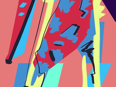 Pelican abstract illustration design