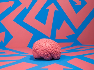 Why do our brains demand a narrative? editorial art direction photography