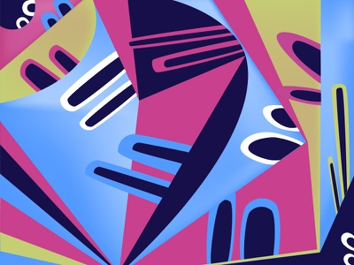 transitions color abstract shape colour vector character design illustration