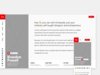 V2 bpweb - Personal Site