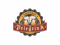 Empório Pelegrina Beer Logo