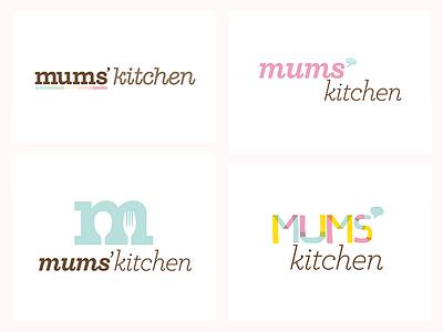 Mum's Kitchen - Logo Propositions logo branding