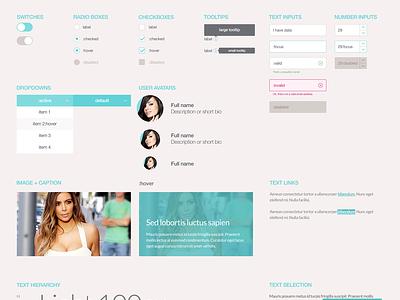 UI Kit - SceneIt Online Community mailonline dailymail ui kit ui kit icon input