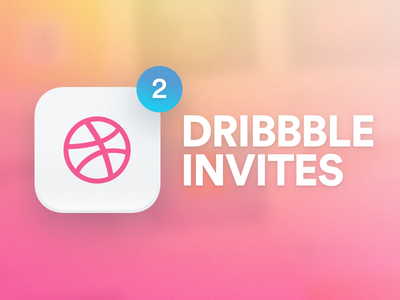 2 Dribbble Invites up for grabs giveaway prospect player draft dribbble invites