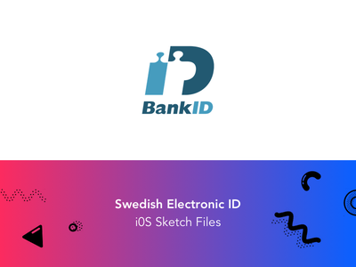 BankID – Swedish Electronic ID iOS Sketch Files swedish ios ui asset sketch bankid